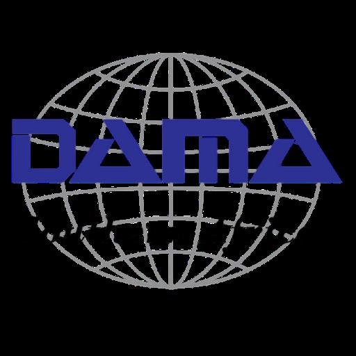 DAMA logo PNG